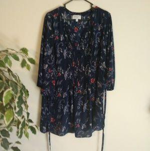 Prescott New York button blouse size 2X